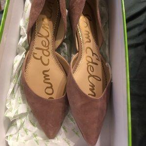 Flat suede same Edelman shoes
